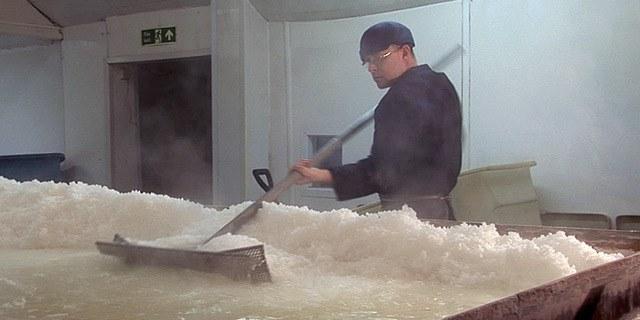proses pembuatan garam oven